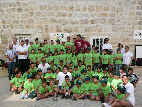 Staff and Students at the Camp
