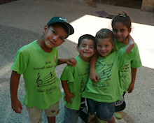 Children at the Camp